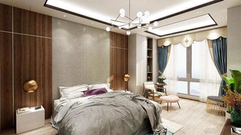 艺龙平仄设计风格-卧室