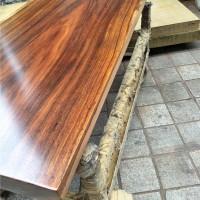 实木大板巴花奥坎老板桌茶桌办公桌红木原木书画桌餐桌茶台会议桌