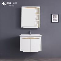 东尚阳光662 现代简约浴室柜  PVC浴室柜 清新小户型镜柜吊柜浴室柜组合 成都浴室柜厂家 浴室柜定制