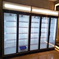 易同人YTR-冷藏柜玻璃移门展示柜冷藏展示柜酸奶饮料冷柜风冷立式冷藏柜蔬菜水果保鲜柜超市冷柜饮品冷藏展示柜啤酒保鲜柜双门