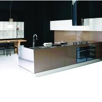 德尔诺   专业定做整体厨房不锈钢橱柜   不锈钢整体橱柜加工  不锈钢橱柜厂家 不锈钢储物柜