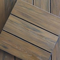 生态木户外地板阳台露台木地板 防腐木地板露台地板塑木DIY