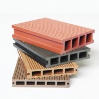 木塑地板 空心塑木地板 户外地板 直销木塑 力森木塑