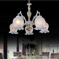 欧式灯具 艺术吊灯 客厅灯 简欧卧室灯仿古地中海餐厅灯饰6601-5