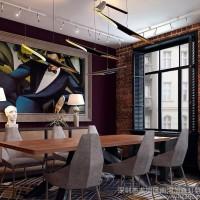 设计师loft创意个性吊灯简约现代工程酒店别墅吧台咖啡厅铝材