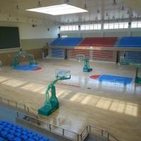 尚奥体育实木运动地板   实木地板厂家 实木地板  羽毛球地板