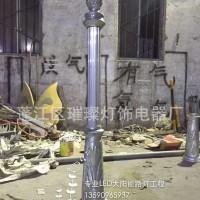 璀璨 户外罗马柱 欧式庭院灯铸铝件 led庭院灯