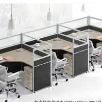办公屏风 隔断电脑桌 员工组合多人位 4人6人位 办公桌45