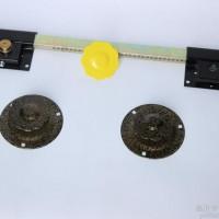 650mm防盗大门锁室内 古铜 钛金球 防盗锁批发销售